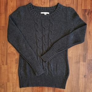 3/$25 Old Navy gray cable sweater